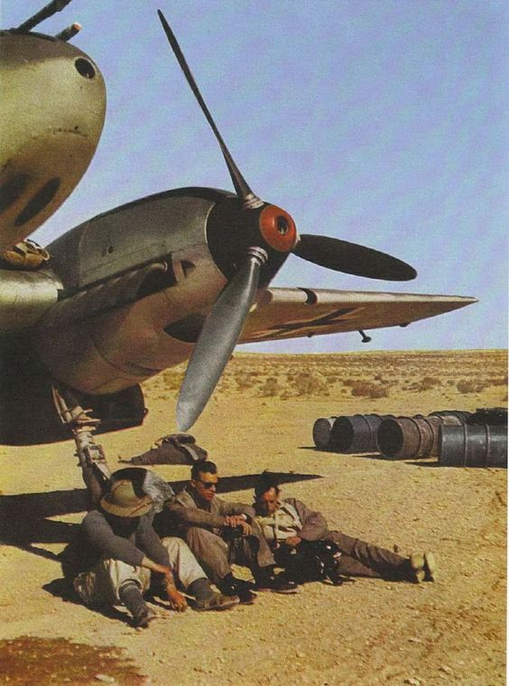 luftwaffe in north africa
